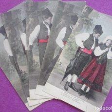 Postales: 5 POSTALES NIÑOS ADOLESCENTES VER FOTOS ADICIONALES. Lote 182923121