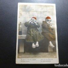 Postales: NIÑOS FRAILES POSTAL . Lote 183396116