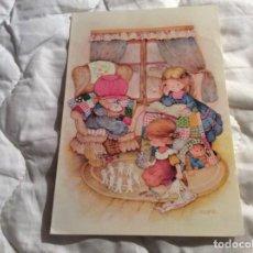 Postales: POSTAL CIRCULADO CON FECHA DE 1994. REF.ª BUSQUETS 04.04.300. DIPTICA. ILUSTRADO POR SALMONS.. Lote 183455833