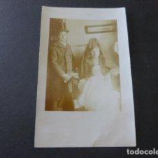 Postales: NIÑOS DISFRAZADOS POSTAL FOTOGRAFICA HACIA 1915. Lote 183486490