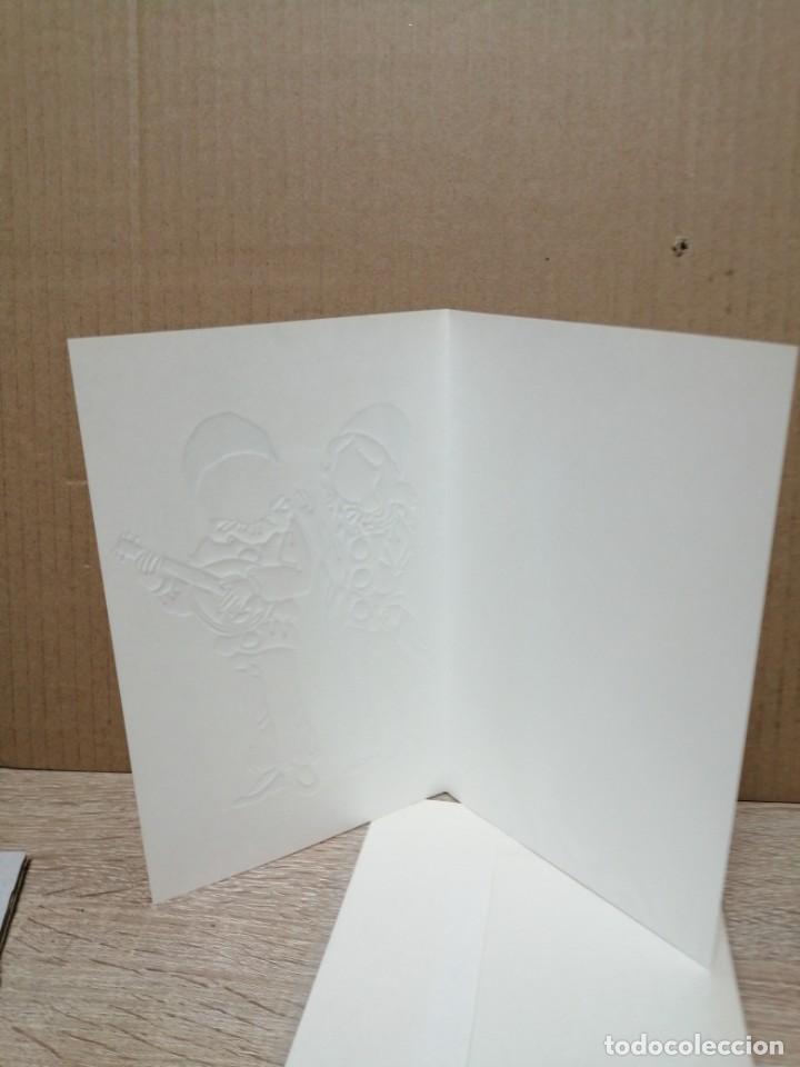Postales: POSTAL FELICITACIÓN EN RELIEVE CONSTANZA C Y Z - Foto 3 - 183750072