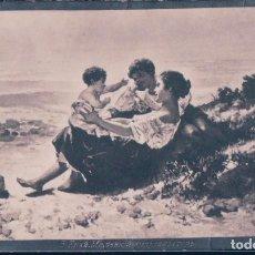 Postales: POSTAL RETRATO PAREJA Y BEBE - B KPAN - FOTOGRAFICA. Lote 184420622