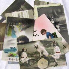 Postales: 19 POSTALES DE NIÑOS, PRINCIPIOS DEL SIGLO XX. Lote 185988136