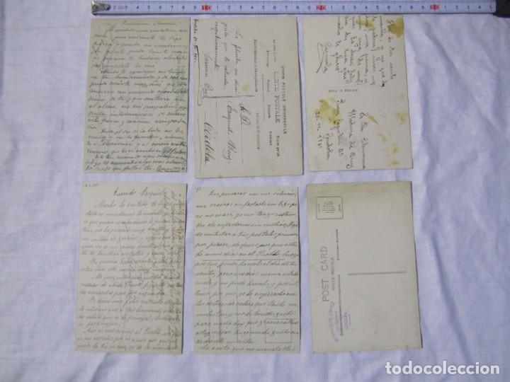Postales: 19 postales de niños, principios del siglo XX - Foto 5 - 185988136