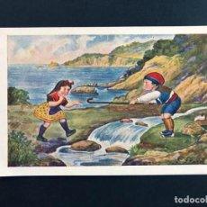 Postales: POSTAL / LLORET DE MAR / SERIE EXCURSIÓ Nº 20 / EDICIONS CATALANES / SIN USAR. Lote 188542473
