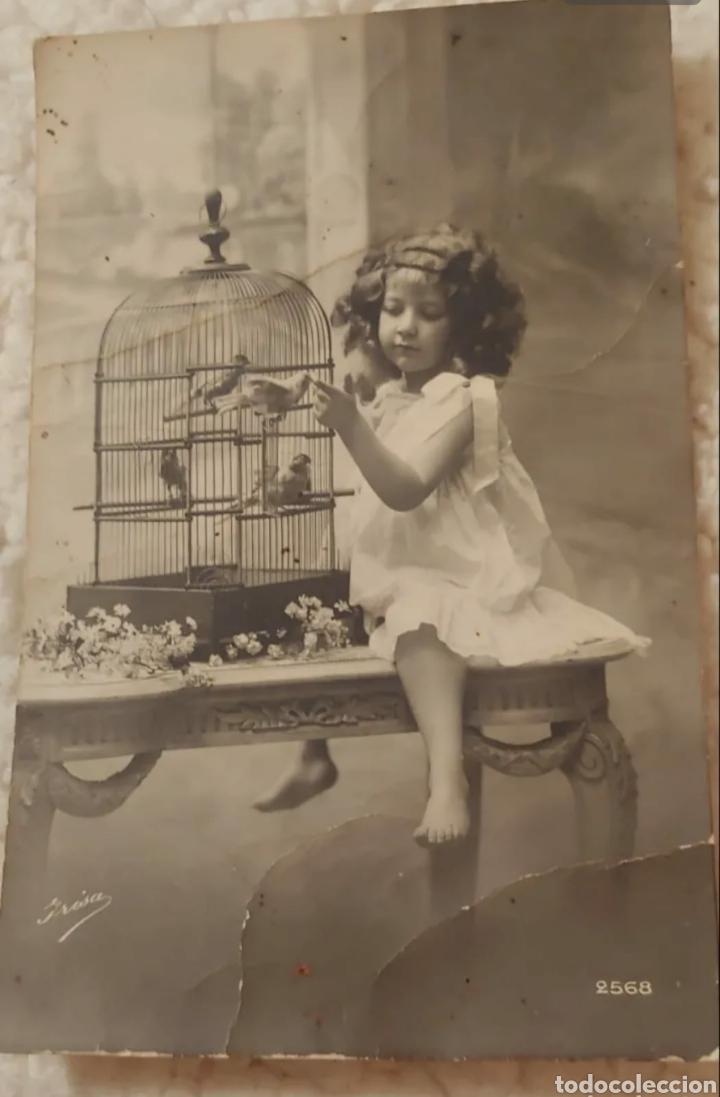 POSTAL 1911. FOTOGRAFO IRISA (Postales - Postales Temáticas - Niños)