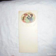Postales: BONITA TARJETA MENU NIÑOS. Lote 193184672