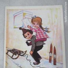 Postales: DIBUJO DE ARNULF - POSTAL S/C. Lote 194187726