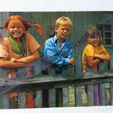 Postales: POSTAL, PIPPI, TOMMY Y ANNIKA, NUMERO 112. Lote 194393102