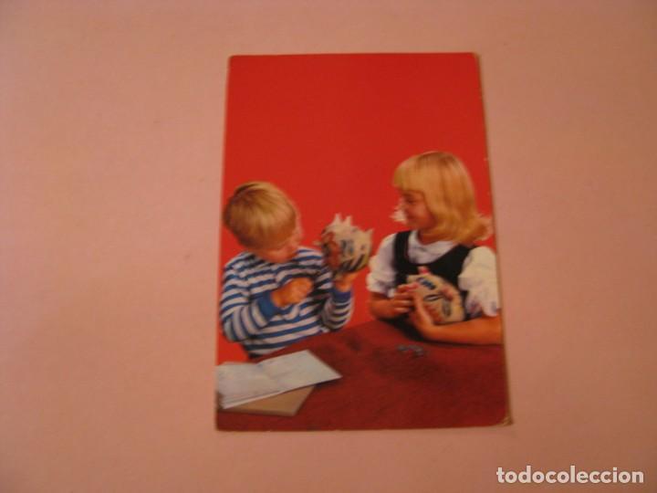 POSTAL DE ED. C. Y Z. 6615. ESCRITA. (Postales - Postales Temáticas - Niños)