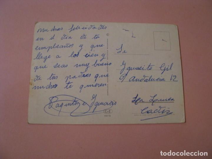 Postales: POSTAL DE ED. C. Y Z. 6615. ESCRITA. - Foto 2 - 194510770