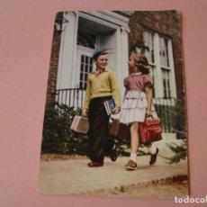 Postales: POSTAL DE ED. BARCO VELERO 13356/F. ESCRITA. 1965.. Lote 194511876