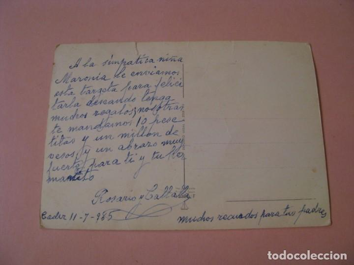 Postales: POSTAL DE ED. BARCO VELERO 13356/F. ESCRITA. 1965. - Foto 2 - 194511876