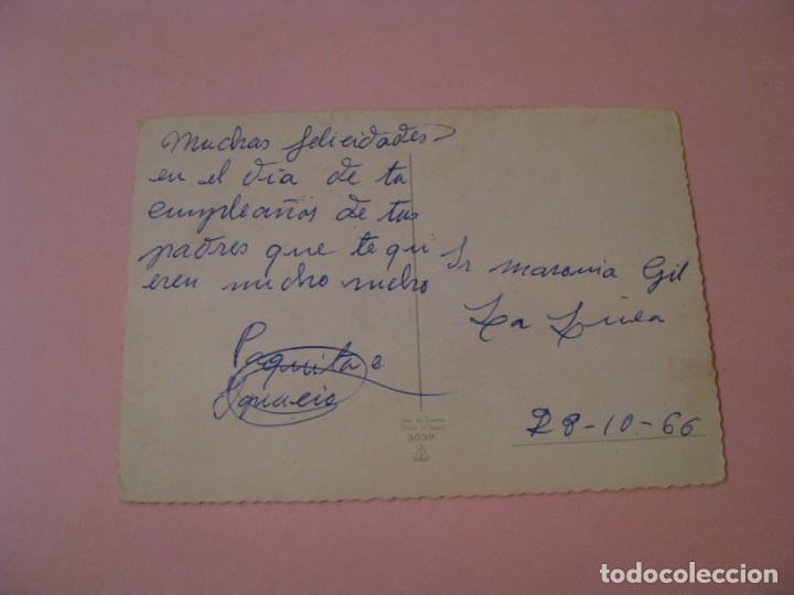 Postales: POSTAL DE ED. BARCO VELERO 3039. ESCRITA. 1966. - Foto 2 - 194512197