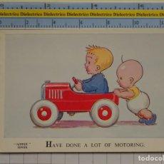 Postales: POSTAL DE NIÑOS DIBUJOS INFANTIL. AÑOS 20 - 30. GRAN BRETAÑA. HAVE DONE MOTORING. NIPPER SERIES. 88. Lote 194903213