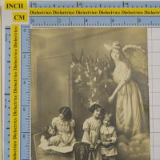 Postales: POSTAL DE NIÑOS DIBUJOS INFANTIL. AÑO 1912. NIÑOS Y ÁNGEL. 3159 /60. 92. Lote 194903402