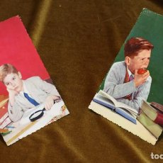 Postales: TARJETAS POSTALES VINTAGE,BACHILLER,COLOR,USADAS. Lote 194934706