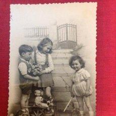 Postales: ANTIGUA POSTAL DE NIÑOS. Lote 194963686