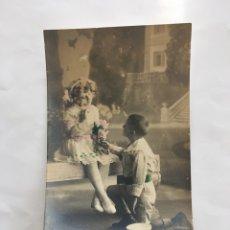 Postales: POSTAL ROMÁNTICA. DECLARACION DE AMOR. H. 1920?.. Lote 195182310