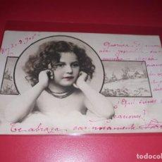 Postales: POSTAL FECHADA 1905 ESCRITA Y SELLADA. Lote 195498625