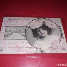 Postales: POSTAL FECHADA 1905 ESCRITA Y SELLADA. Lote 195498780