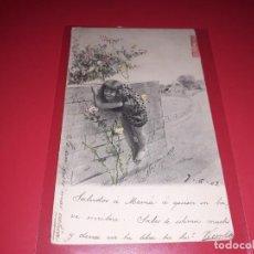 Postales: POSTAL FECHADA1903 ESCRITA Y SELLADA. Lote 195499816