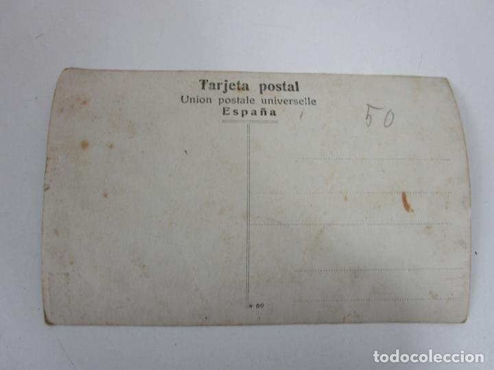 Postales: Tarjeta Postal - Postal con Niño ( Nacimiento o Post Mortem) - Principios S. XX - Foto 3 - 197737248