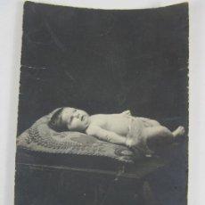Postales: TARJETA POSTAL - POSTAL CON NIÑO ( NACIMIENTO O POST MORTEM) - PRINCIPIOS S. XX. Lote 197737248