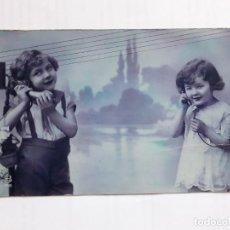 Postales: POSTAL EN COLOR 1931. FRANCESA, ED. L. BERGERET. PARÍS. Lote 203145140