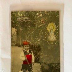 Postales: POSTAL ANTIGUA, NIÑO VESTIDO DE BATURRO. ED. J.C. MADRID S. 426/1. Lote 204681780