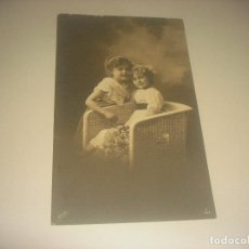Postales: ANTIGUA POSTAL DE NIÑAS, SIN CIRCULAR.. Lote 204832935