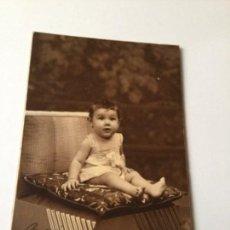 Postales: POSTAL NIÑO -FOTO STUDIO LUMIERE- 1934. Lote 205300078
