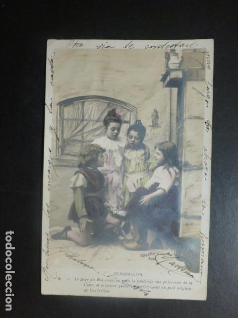CENICIENTA POSTAL (Postales - Postales Temáticas - Niños)