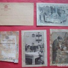 Postales: COLEGIO NACIONAL DE SORDOMUDOS.-REPUBLICA ESPAÑOLA.-POSTALES.-ENSEÑANZA.-MADRID.. Lote 205587268