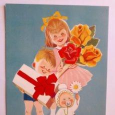 Postales: POSTAL INFANTIL ILUSTRADA. AÑOS 70. Lote 206328155