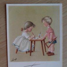 Postales: TARJETA POSTAL - 1958 ARTISTAS INFANTILES - FELICIDADES № 3000. Lote 206462143