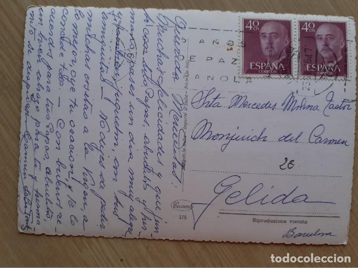 Postales: TARJETA POSTAL - ITALIA - NIÑOS CON GATO AÑOS 60 - CECAMI 275 - Foto 2 - 206544753
