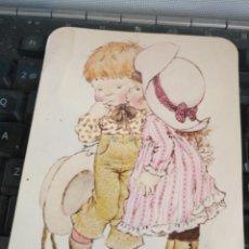 Postales: HAGA SU OFERTA POSTAL INFANTIL NIÑOS SARAH KAY NIÑOS ILUSTRADA ILUSTRADOR ANTIGUA ORIGINAL. Lote 207068868