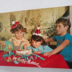 Postales: HAGA SU OFERTA - POSTAL INFANTIL NIÑOS O BEBES - FAMILIARES - CUMPLEAÑOS ETC. Lote 207130575