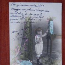 Postales: LOTE 24 POSTALES ANTERIORES A 1905 NIÑOS - DE DIFERENTES SERIES DE HISTORIAS. Lote 210465150