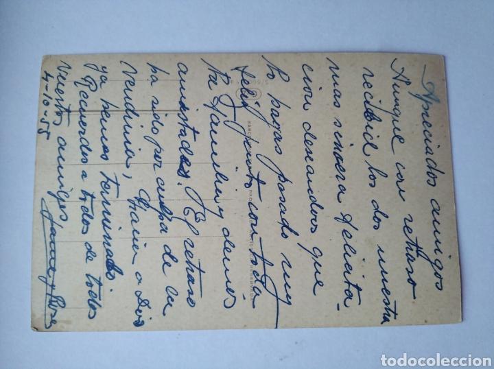 Postales: Postal niño tiroles montaña montañero escrita año 1955 - Foto 2 - 212307560