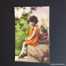 Postales: 7 POSTALES CON NIÑOS. APROX 1910 -1920. . ESCRITA. (P31). Lote 212712310