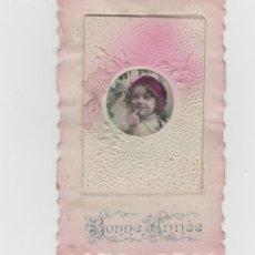 Postales: LOTE B- POSTAL ROMANTCA TROQUELADA ESPECIAL VER IMAGENES. Lote 214366590