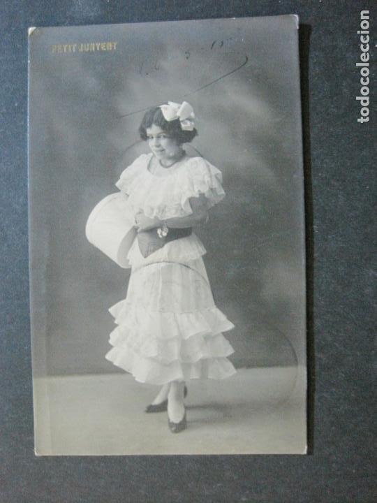 PETIT JUVENT-FOTOGRAFICA-POSTAL ANTIGUA-VER FOTOS-(73.419) (Postales - Postales Temáticas - Niños)