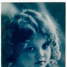 Postales: PRECIOSA NIÑA. POSTAL MODERNISTA. BLEUET, PARIS 457. ESCRITA EN 1925. PT. Lote 215264093