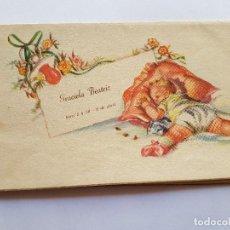 Postales: TARJETA DE NACIMIENTO, BIRTH CARD, CARTE DE NAISSANCE, 1956. Lote 215493460