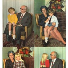 Postales: FAMILIA TRADICIONAL · SERIE 1088 (4 POSTALES) -POSTALES VIKINGO-. Lote 218479540