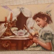 Postales: ANTIGUA POSTAL INFANTIL 1957. Lote 221721728