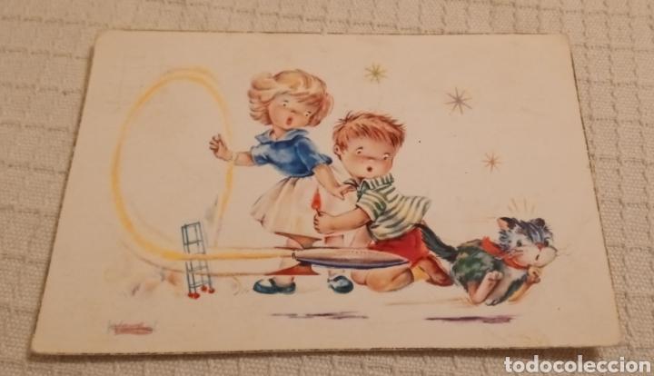 ANTIGUA POSTAL INFANTIL (Postales - Postales Temáticas - Niños)