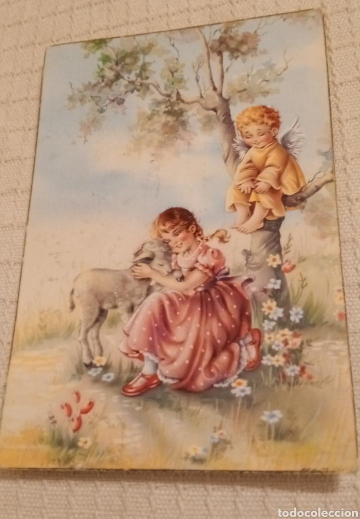 ANTIGUA POSTAL 1961 (Postales - Postales Temáticas - Niños)